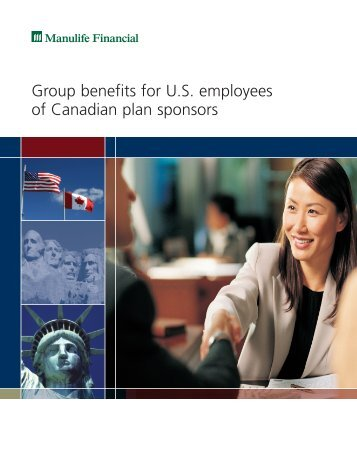 Group benefits for U.S. employees of Canadian plan sponsors