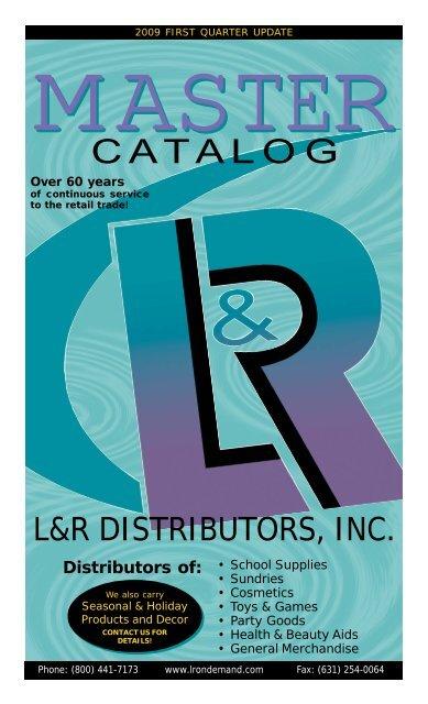 MASTER - L&R Distributors, Inc
