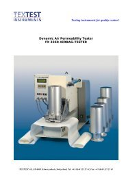 Brochure for FX 3350 Airbag Tester - ATI Corp