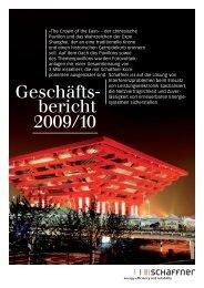 Geschäfts bericht 2009/10