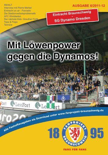Heft 06: Dynamo Dresden - FanPresse Braunschweig