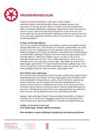 Se pressemeddelelse - Københavns Madhus