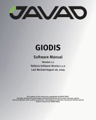 GIODIS Software Manual