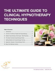 Subtle Energy Healing - The Wellness Institute
