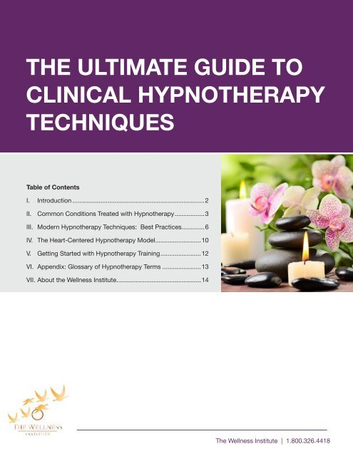 the ultimate guide to clinical hypnotherapy techniques