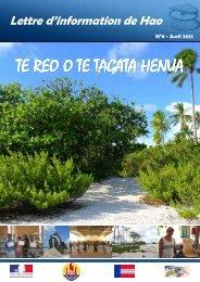 Te Reo n°8 - Haut-Commissariat de la république en Polynésie ...