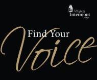 Print - Virginia Intermont College