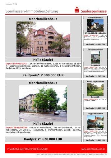 Kaufpreis - Saalesparkasse