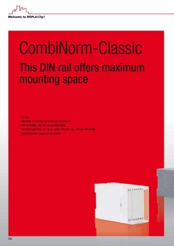 CombiNorm-Classic - Phoenix Mecano Kft.