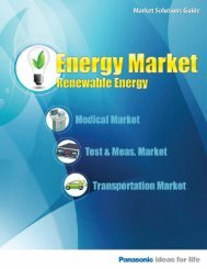 Energy Market Guide - Panasonic Electric Works Corporation of ...