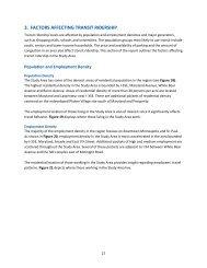Chapter 3 - Factors Affecting Transit Ridership - Metro Transit