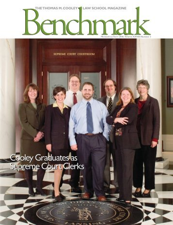 Benchmark - Michaelmas Term 2006 - Thomas M. Cooley Law School