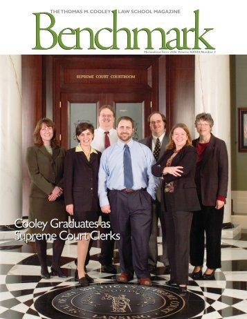 Benchmark - Michaelmas Term 2006 - Thomas M. Cooley Law School