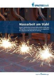 Massarbeit am Stahl - Spaeter AG