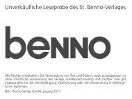 ist möglich – auch das Unmögliche - St. Benno-Verlag
