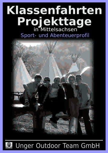 Klassenfahrt mit Aktiv - Unger Outdoor Team GmbH