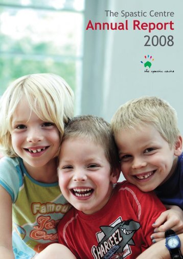 2008 Annual Report - Cerebral Palsy Alliance