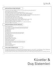 Küvetler & Duş Sistemleri - VitrA