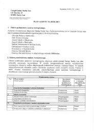 Plan audytu na rok 2013 - Gmina Suchy Las