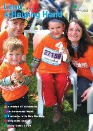 Volunteers Newsletter - September 2008 - The Spastic Centre