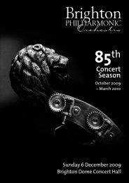 BPO Programme 6 DEC:Layout 1 - Brighton Philharmonic Orchestra