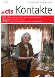 01/2012 Informationen für Mitarbeiter und Freunde - Caritas ...