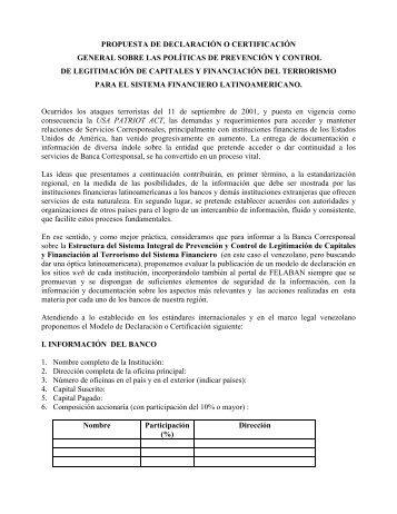 Ver Boletín - Felaban
