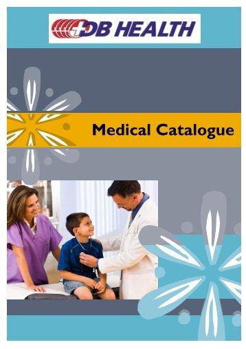 Medical Catalogue NO PRICES