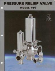 Flowtech pressure relief valve