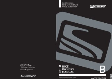 BIKE OWNERS MANUAL - Amazon Web Services