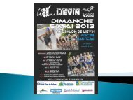 briefing - Ligue de Triathlon Nord Pas De Calais