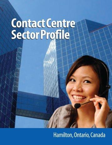 Contact Centre Profile - Hamilton Economic Development