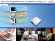 Survey on Usage of Wireless Devices for ... - Meru Networks