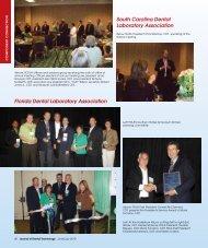 South Carolina Dental Laboratory Association ... - JDT Unbound
