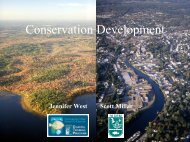 Conservation Development - Rhode Island Land and Water ...
