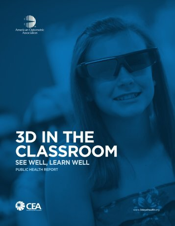 American Optometric Association research - The 3D Classroom