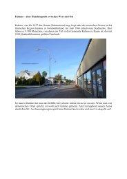 Kuhmo – alter Handelspunkt zwischen West und Ost Kuhmo, was ...
