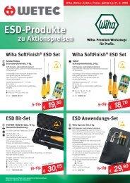 ESD-Produkte - Wetec