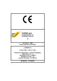 Coene Hermine 66 marquage CE FIXE - Triple vitrage ... - Proximedia