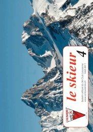 Skieur No 4 - 2011 final - Ski-club Lausanne