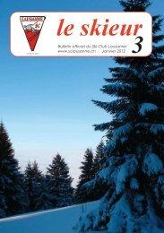 Skieur No 3 - 2012 - Ski-club Lausanne