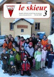 Skieur No 3 - 2009 - Ski-club Lausanne