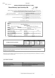 QSr 2/2005 NETIA Wybrane dane finansowe dotyczÄ…ce ... - Netia SA
