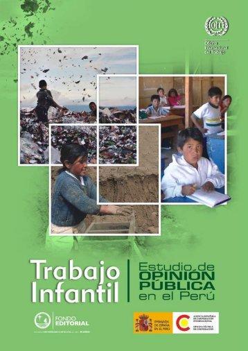 Trabajo Infantil. Estudio de opinión pública en el Perú, 2007