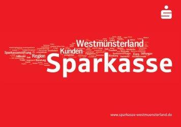 Die Sparkasse - Sparkasse Westmünsterland
