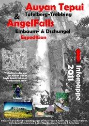 Auyan Tepui Einbaum- & Dschungel Expedition ...  - Ottos tours