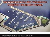 neugestaltung des touristen viertels im hafen tomis
