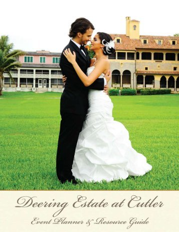Weddings - Deering Estate at Cutler