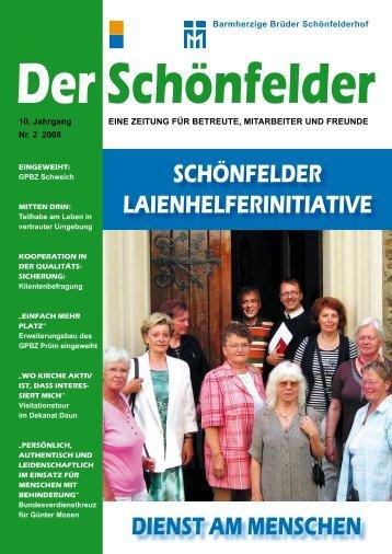 an den schönfelder - Barmherzige Brüder Schönfelderhof