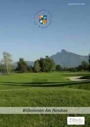 Club Magazin Ausgabe 1 2008 - Golfclub Mondsee